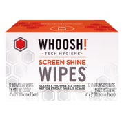 WHOOSH SCREEN CLEAN 12PK WIPES