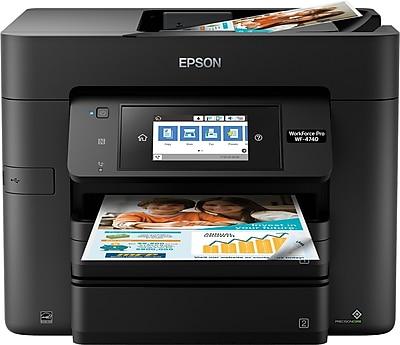 Epson WorkForce Pro WF-4740 All-in-One Color Inkjet Printer (C11CF75201)