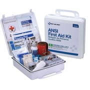 First Aid Only® 50 Person First Aid Kit, ANSI B, Type III, Weatherproof Plastic Case (90566)