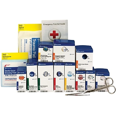 First Aid Only® Food Service First Aid Refill Pack, 25 Person, Medium SmartCompliance®, ANSI A (90692)