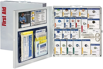First Aid Only™ SmartCompliance™, Large Metal First Aid Cabinet without Medications