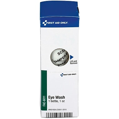First Aid Only® SmartCompliance® by First Aid Only® Refill Eyewash, 1 Oz. Bottle, 1 Per Box (FAO-6011)