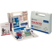First Aid Only® 25 Person First Aid Kit, Plastic Case With Dividers (223-U)