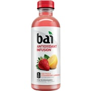 Bai Sao Paulo Strawberry Lemonade, Antioxidant Infused Beverage, 18 Fl. Oz. Bottles, 12/Pack