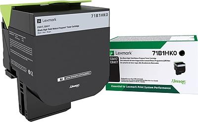 Lexmark CS/X417/517 High Yield Return Program Black Toner