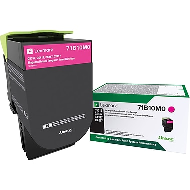 Lexmark CS/X317/417/517 Return Program Magenta Toner
