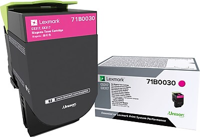 Lexmark CS/X317 Magenta Toner Cartridge (71B0030)