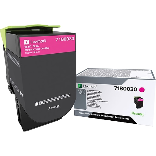 Lexmark CS/X317 Magenta Toner Cartridge (71B0030)