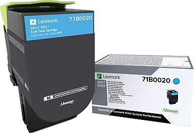 Lexmark CS/X317 Cyan Toner (71B0020)