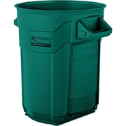 Suncast Commercial Utility Trash Can, 20 Gallon, Green (BMTCU20G)