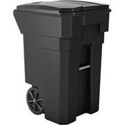 Suncast Commercial Wheeled Trash Can, 65 Gallon (BMTCW65)
