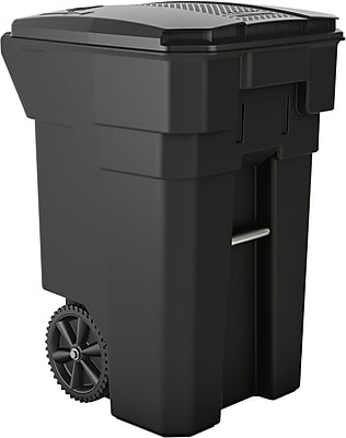 Suncast Commercial Wheeled Trash Can, 65 Gallon (BMTCW65)