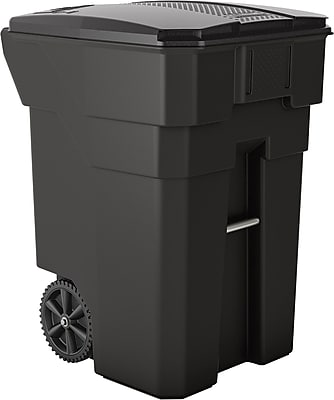 Suncast Commercial Wheeled Trash Can, 96 Gallon (BMTCW96)