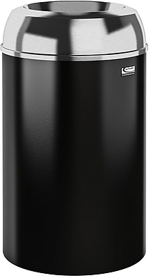 Suncast Commercial Metal Indoor Trash Can, 30 Gallon (MTCIND3002)