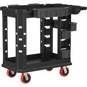 "Suncast Commercial Structural Foam Utility Cart, HD, 19"" x 37"" (PUCHD1937)"