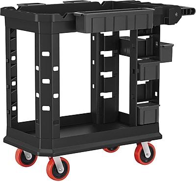 Suncast Commercial Structural Foam Utility Cart, HD, 19
