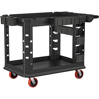 Suncast Commercail Structural Foam Utility Cart, HD Plus, 26x45, M (PUCHD2645)