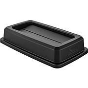 Suncast Commercial Double Flip Lid, Black (TCNLID01BK)