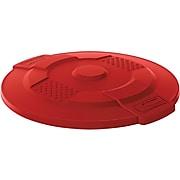Suncast Commercial Utility Trash Lid, Red, 32 Gal. (TCU32LIDR)