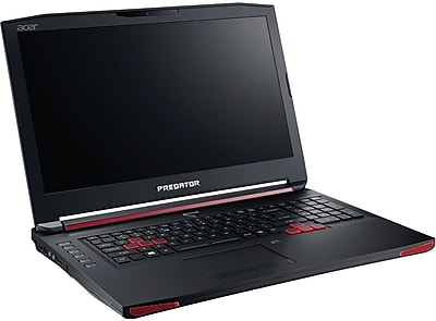 Refurbished Acer Predator, G9 793 741K, 17.3 inch , 2 TB HDD, 256GB SSD, 32GB Ram, 2.6 GHz Intel Core i7 6700HQ, Touch,... by
