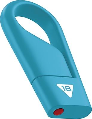 Emtec Hang 16GB USB 2.0 Flash Drive, Assorted