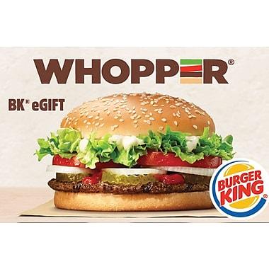 Burger King eGift Card $100 (Email Delivery)
