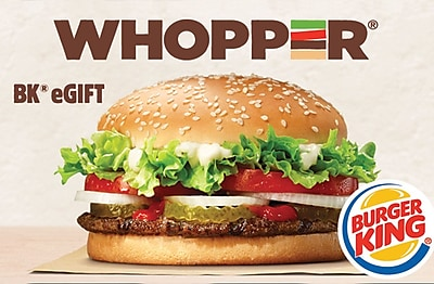 Burger King eGift Card $25 (Email Delivery)