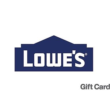 Lowe's Gift Card $150