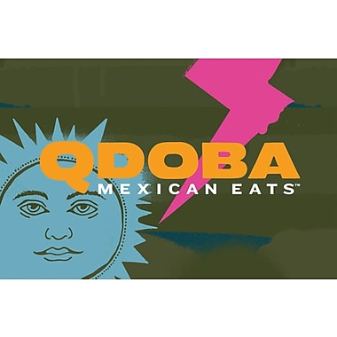 Qdoba Mexican Eats eGift Card $100 (Email Delivery)