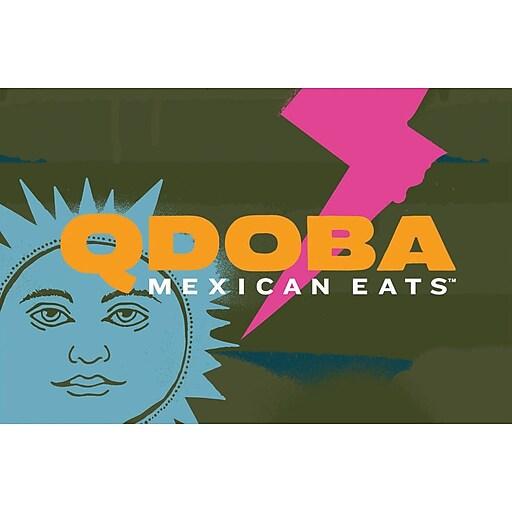 Qdoba Mexican Eats eGift Card $50 (Email Delivery)