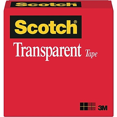 Scotch® Transparent Tape 600, 3/4