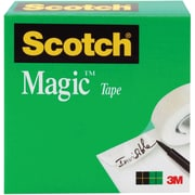 "Scotch® Magic™ Tape 810, 3/4"" x 72 yds, 3"" Core"
