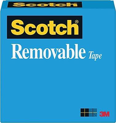 Scotch® Removable Tape 811, 1/2