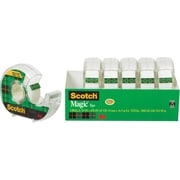 "Scotch® Magic™ Tape, 3/4"" x 650"" Each w/Dispenser , 1"" Core, 6/pack (6122)"