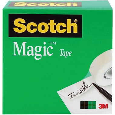 Scotch 810 Magic™ Tape Refill, 1/2