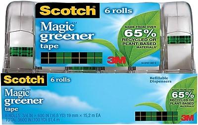 Scotch® Magic ™ Greener Tape, 3/4