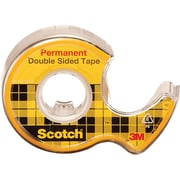 """Scotch® 1/2"""" x 250"""" Double Sided Tape; Clear, 1 Roll"""