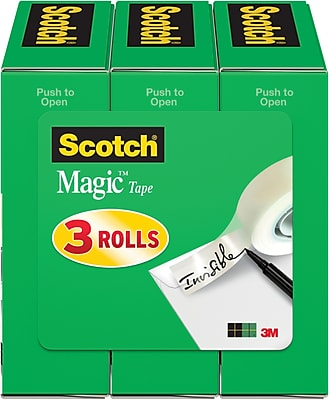 Scotch® Magic™ Tape 810, 1/2