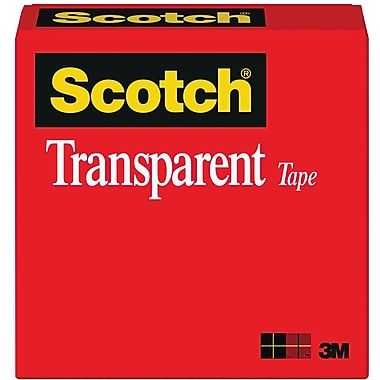 Scotch® Transparent Tape 600, 1