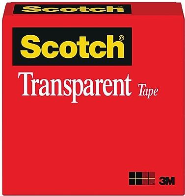 Scotch® Transparent Tape, 1