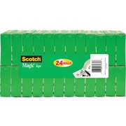 "Scotch® Magic™ Tape, 3/4"" x 1000"", 24 Boxes/Pack (810K24)"