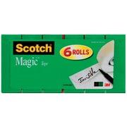 """Scotch® Magic™ Tape 810, 3/4"""" x 800 in, 6/Pack"""