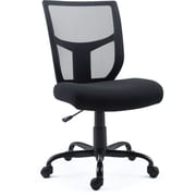 Staples Black Mesh and Fabric Task Chair