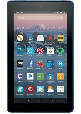 Amazon Fire 7 Tablet with Alexa, 7