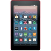 "Fire 7 Tablet with Alexa, 7"" Display, 8 GB, Punch Red - with Special Offers (B01J90OCNM)"