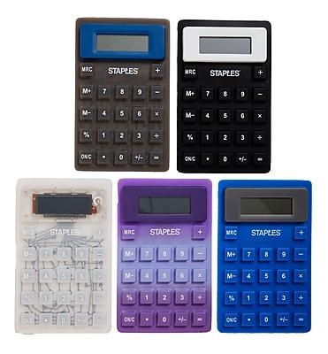 Staples® Flexible 8-Digit Display Desk Calculator