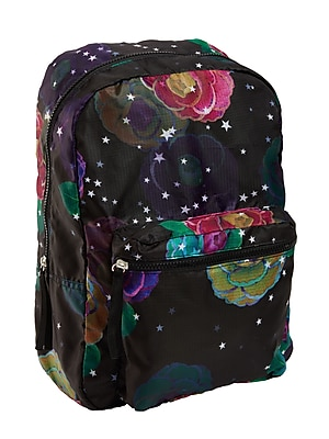 Cynthia Rowley Nylon Backpack, Midnight Botanical (1222)