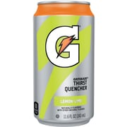 Gatorade® Ready To Drink Thirst Quencher, Lemon-Lime, 11.6 oz. Can