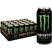 Monster Energy Original Drink, 16 Oz. Cans, 24/Pack (133129)