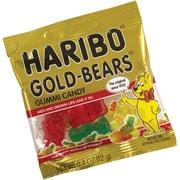 Haribo® Gold Gummi Bears; 0.5 oz. Mini Bags, 54 Mini Bags/Tub